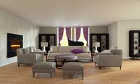 Online design Living Room by Fundisha H. thumbnail