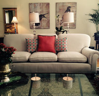 Online design Transitional Living Room by Jamie M. thumbnail