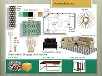 Online design Eclectic Living Room by Jamie M. thumbnail