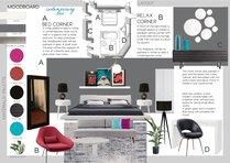 Eclectic Colorful Bedroom Elisabetta R. Moodboard 1 thumb