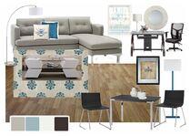 Lyns Modern Living Room & Bedroom Design Sara Y Moodboard 2 thumb