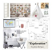 Contemporary Student Space Transformation Alaine J. Moodboard 2 thumb