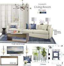 White and Blue Contemporary Living Room Tiara M. Moodboard 2 thumb