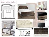 Masculine transitional bedroom Lynda N Moodboard 1 thumb