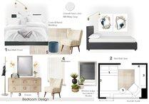 Chic and Classy Bedroom Transformation Tiara M. Moodboard 1 thumb