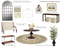 Traditional Glam Entry Design Kyra W. Moodboard 1 thumb