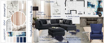 Gray Tones for Transitional Living Room Lauren A. Moodboard 2 thumb