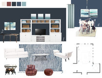 Open Contemporary Living/Dining Space Camila C. Moodboard 1 thumb