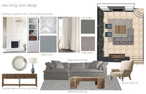 Bright and Sleek Living/Dining Courtney H. Moodboard 2 thumb