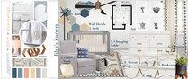 Geometric Modern Nursery Design Lauren A. Moodboard 1 thumb