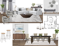 Comfy contemporary home design Picharat A.  Moodboard 2 thumb