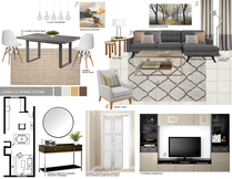 Soothing bedroom and living space Picharat A.  Moodboard 2 thumb