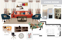 Bright Traditional Family Room Jina K. Moodboard 2 thumb