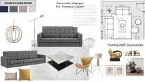 Eclectic with Blue Accents Living Room Lindsay B. Moodboard 2 thumb