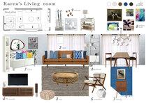Eclectic Living Room Transformation Marina S. Moodboard 2 thumb