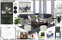 My Modern Living Room Transformation Rachel H. Moodboard 2 thumb