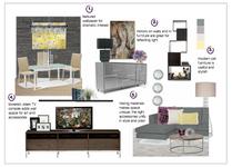 Contemporary Manhattan Living Room Design Christine M. Moodboard 1 thumb