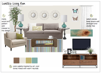 Traditional Living Room Design Christine M. Moodboard 2 thumb