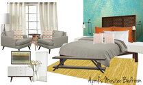Aprils Fun & Eclectic Bedroom Olive T Moodboard 2 thumb