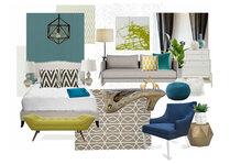 Aprils Fun & Eclectic Bedroom Janet Y Moodboard 3 thumb