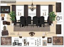 Beautiful Dining Room Design Eleni P Moodboard 1 thumb