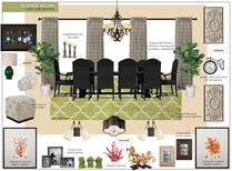 Beautiful Dining Room Design Eleni P Moodboard 3 thumb