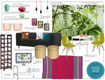 Cozy and Eclectic Studio Design Eleni P Moodboard 1 thumb