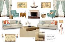 Steves Beach Style Living Room Kinga P Moodboard 2 thumb