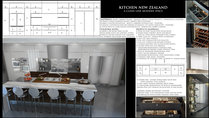 Marks Contemporary/Minimalistic Kitchen Design Rachel H. Moodboard 1 thumb