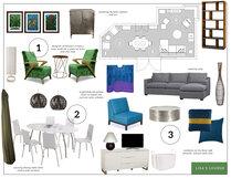Beautiful, Multi Functional Lounge Design Eleni P Moodboard 2 thumb