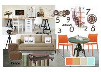 Modern Office Design Sara Y Moodboard 2 thumb