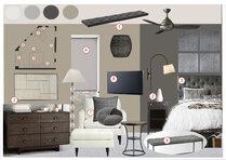 Debbies Classy Black & White Bedroom Design Anna T Moodboard 1 thumb