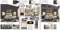 Debbies Classy Black & White Bedroom Design Lane B.W. Moodboard 2 thumb
