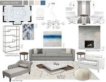 Neils Modern White Living Room Design Picharat A.  Moodboard 3 thumb
