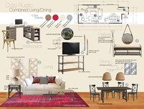 Samanthas Rustic Chic Living/Dining Room Design Ibrahim H. Moodboard 1 thumb