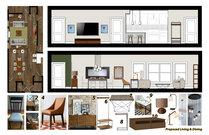 Samanthas Rustic Chic Living/Dining Room Design Aldrin C. Moodboard 2 thumb