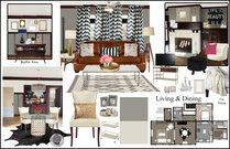 Natalies Eclectic/Glamorous Home Rachel H. Moodboard 1 thumb
