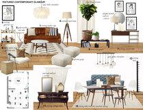 Natalies Eclectic/Glamorous Home Laura A. Moodboard 2 thumb