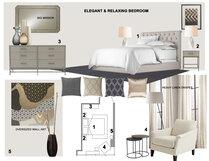 Relaxing Master Bedroom Laura A. Moodboard 2 thumb