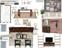 Living Room Design with Color and Flow Picharat A.  Moodboard 2 thumb