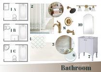 Modern and Sleek White Bathroom Design Bunny W. Moodboard 1 thumb