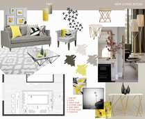 Transitional Glamorous Living Room Laura D Moodboard 2 thumb