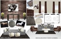 Stylish Equine Hospital Waiting Area Rachel H. Moodboard 1 thumb