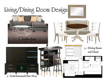 Merediths Glamorous Living & Dining Room Shannon M Moodboard 2 thumb