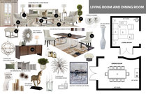 Contemporary Living/Dining & Kids Room Jina K. Moodboard 1 thumb