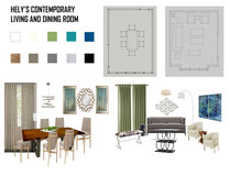 Contemporary Living/Dining & Kids Room Jessica S. Moodboard 2 thumb