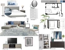 Stylish living room Picharat A.  Moodboard 2 thumb