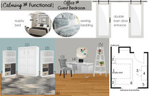 Sophisticated Guest Bedroom and Office Brittany J. Moodboard 1 thumb