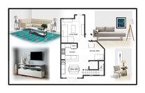 Transitional Living room & Kitchen Aldrin C. Moodboard 2 thumb