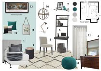 Teen Room Interior Design Help! Anna T Moodboard 2 thumb